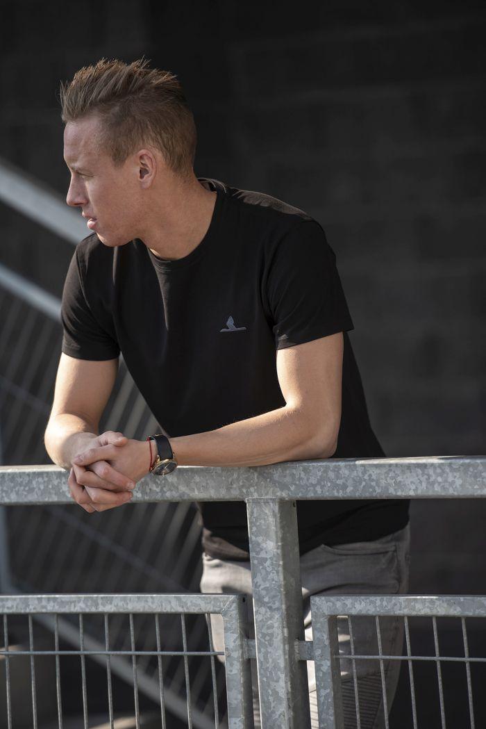 Koszulka z żurawiem streetwear – ZKS Stal Rzeszów